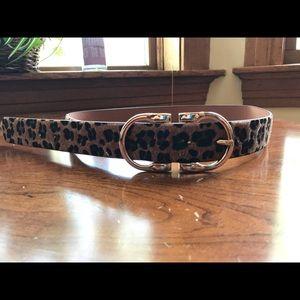 NWOT Forever 21 Leopard Print Belt